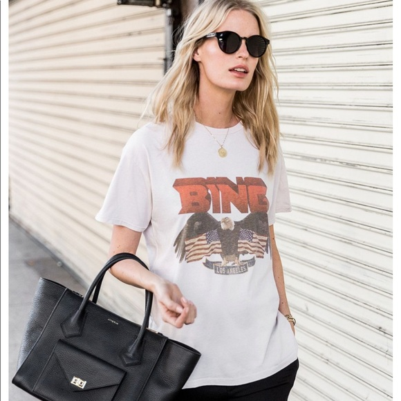 791a4230 Anine Bing Tops - Anine Bing Vintage BING Tshirt